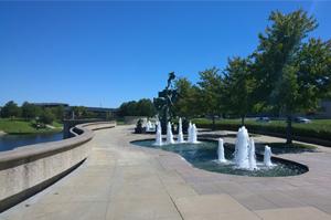William-Volker-Memorial-Fountain