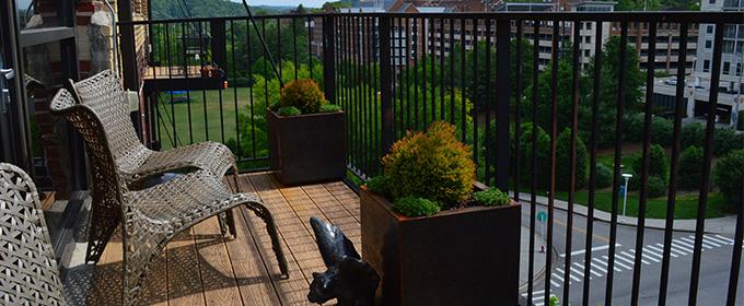 Balcony Landscape Design