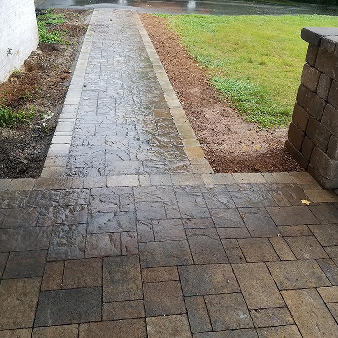 Belgard Paver Walkway