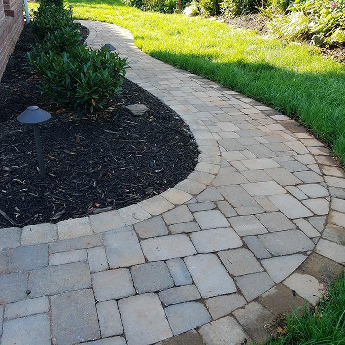 Curving Walkway